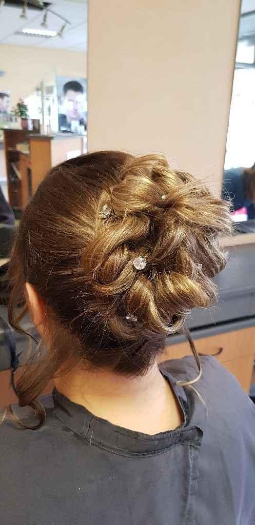 Essaie coiffure validé ✔✅ - 2