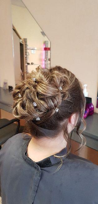 Essaie coiffure validé ✔✅ - 1