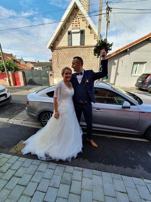 Mariée depuis le 10 octobre 2020. 9
