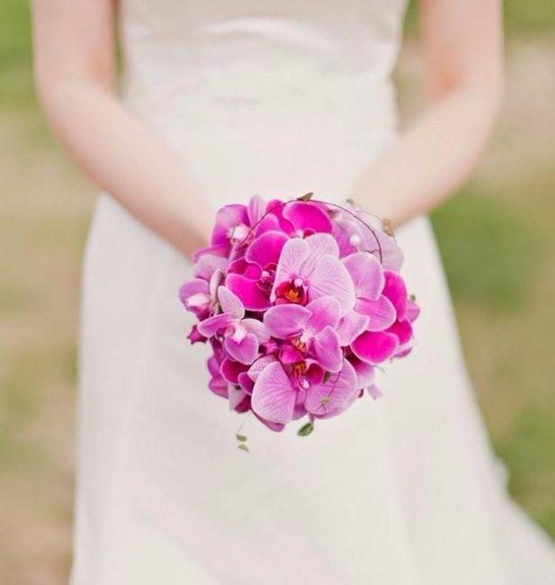 Bouquet d'orchidées roses, des fleurs qui symbolisent la séduction sensuelle