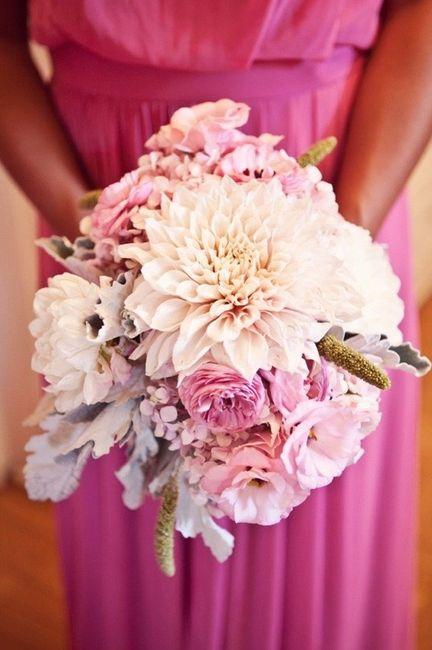 Bouquet Dahlia