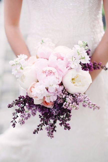 Bouquet avec du lilas