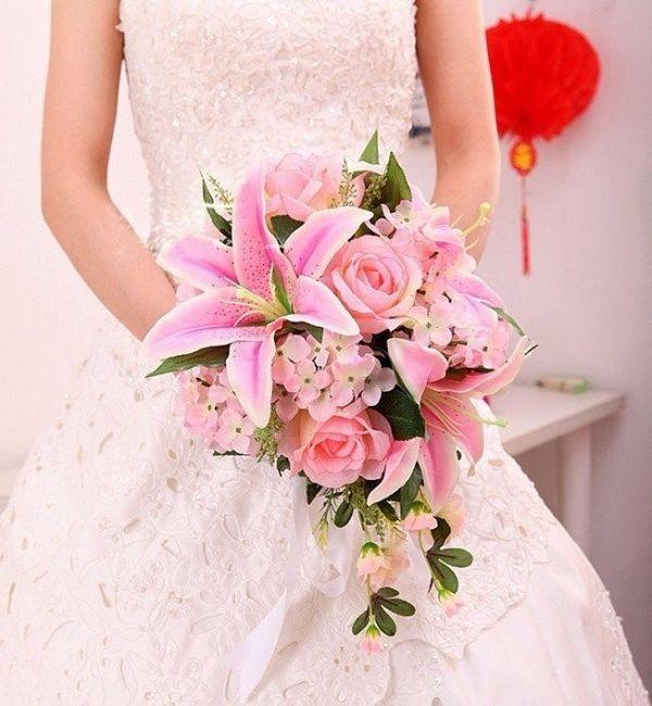 Bouquet avec du lys