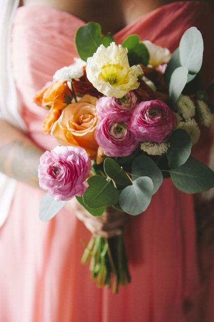 Bouquet de la mari e histoire et signification des for Bouquet de fleurs 7 lettres