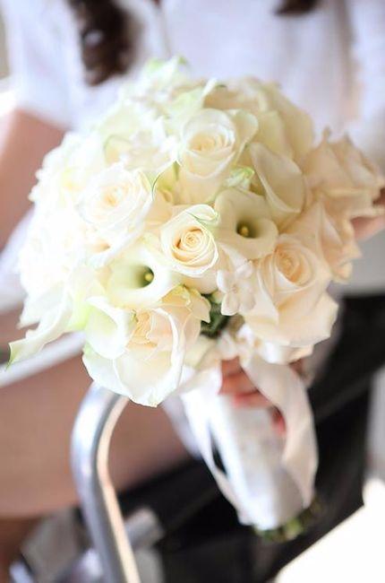 Bouquet avec des roses