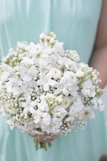 Bouquet avec du stephanotis