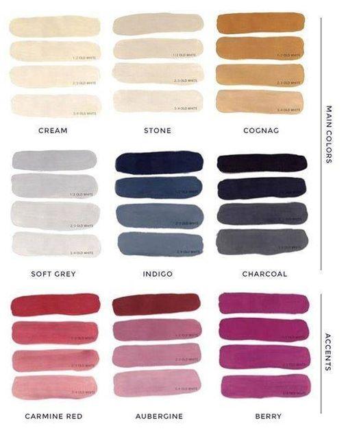 Notre palette de couleur