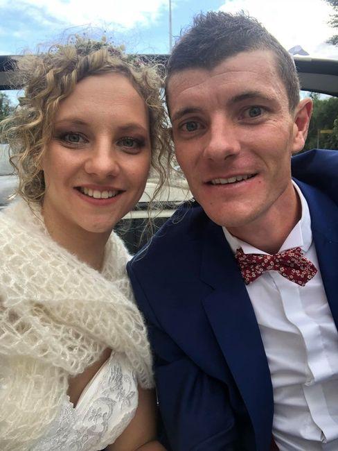 Premier selfie de mari et femme !