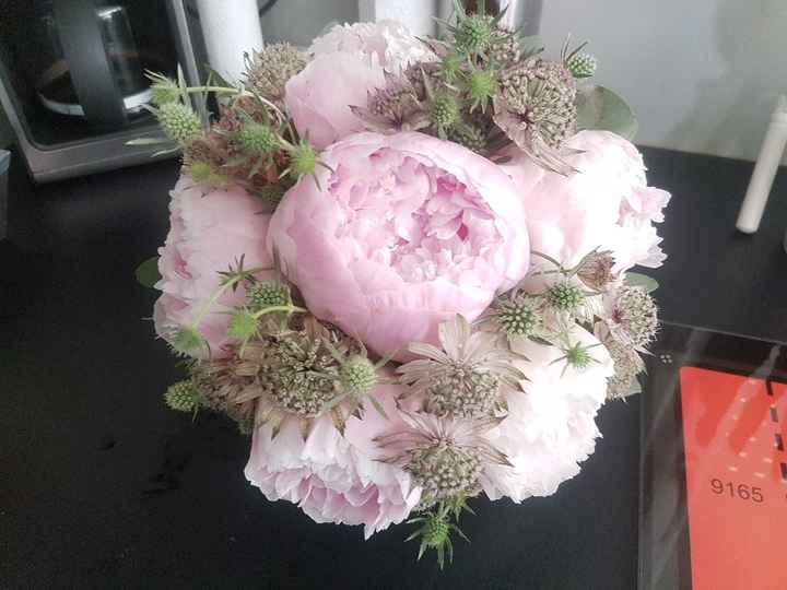 Idées bouquets pivoines. - 1