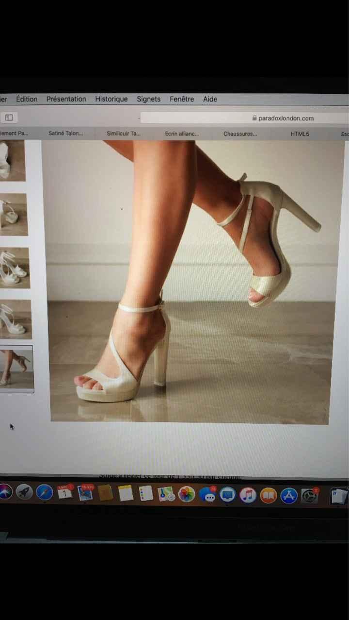 besoin D'aide choix chaussures - 1