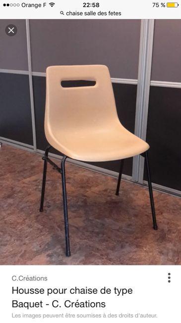 help Housse de chaises + Noeuds en Organza - 1