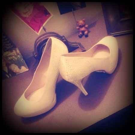 hihihihi mes chaussures !!!