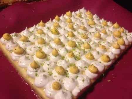 tarte au citron meringué