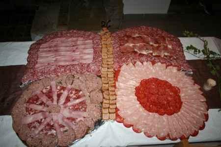 buffet charcuterie theme nature