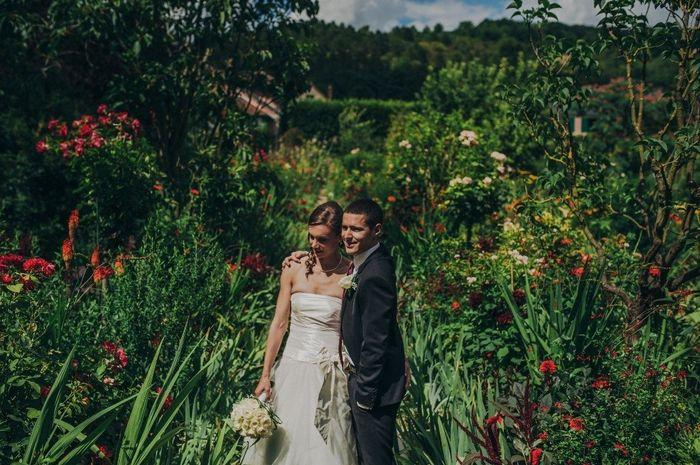 A giverny dans les jardins de monet photo organisation du mariage - Les jardins de monet ...