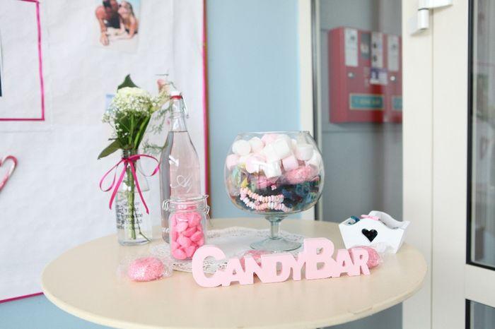 candy bar entrée de salle