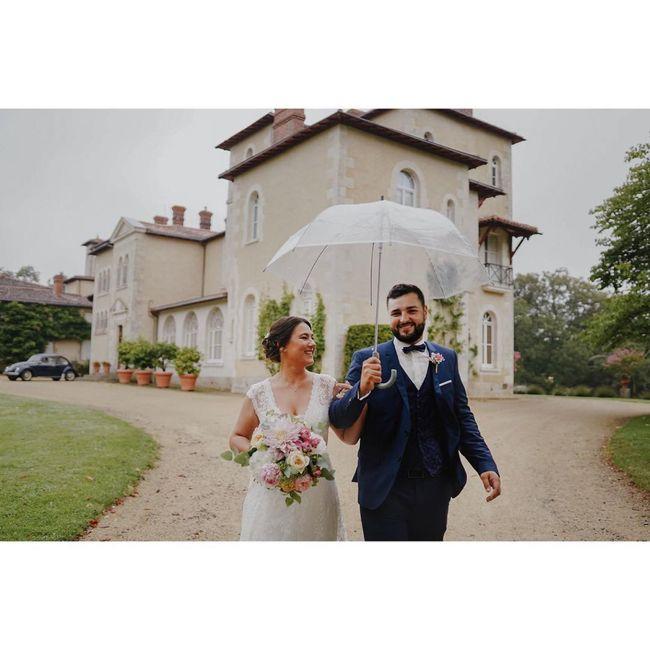 Mariage pluvieux = heureux 4