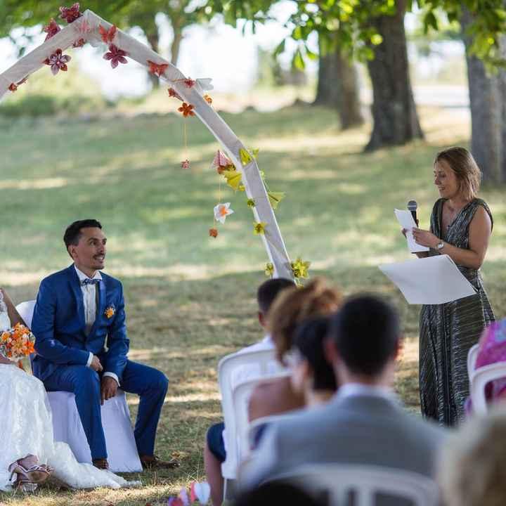 Ceremonie laique - 2