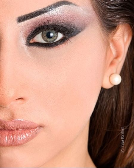 Maquillage rétro Maquillage libanais