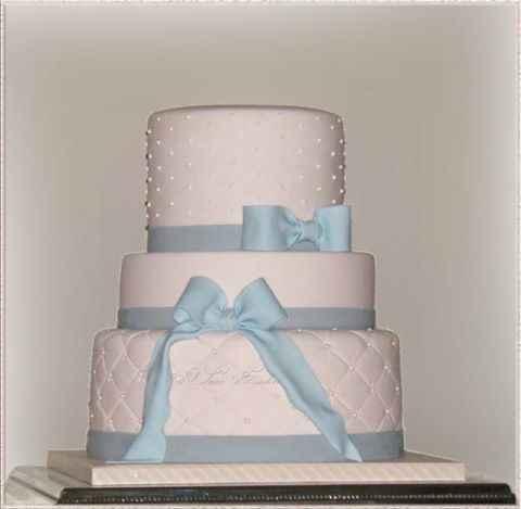 ébauche de notre Wedding cake