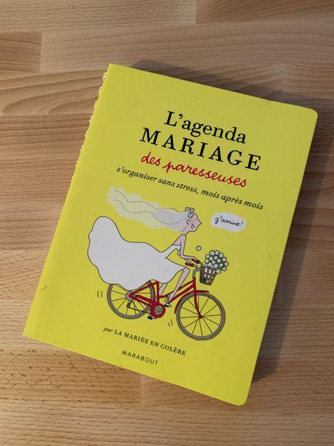 Agenda de mariage 1