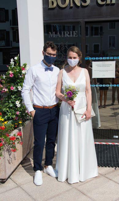 Mariage civil 1er aout 2020 - 3