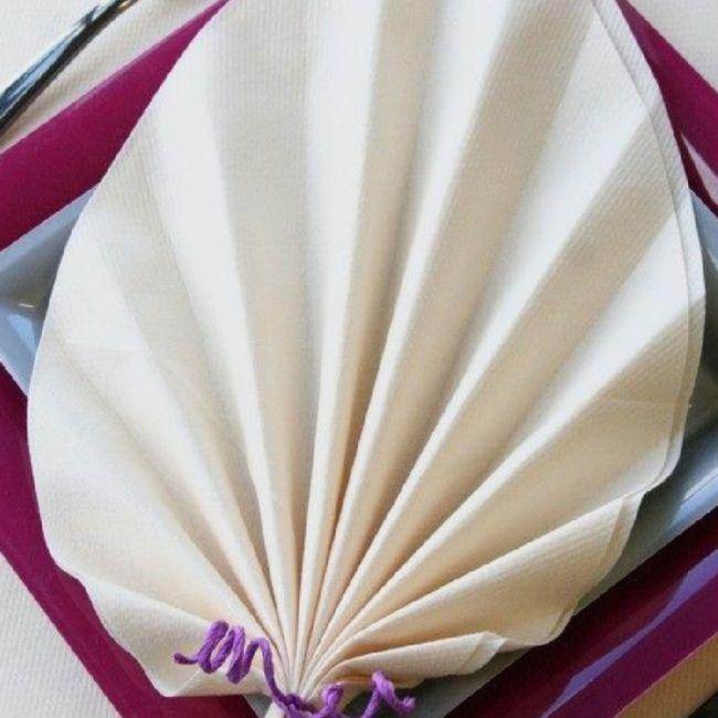 Pliage serviette 11
