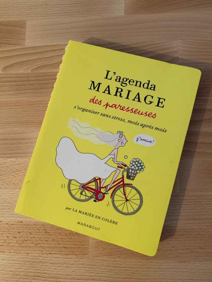 Agenda de mariage - 1
