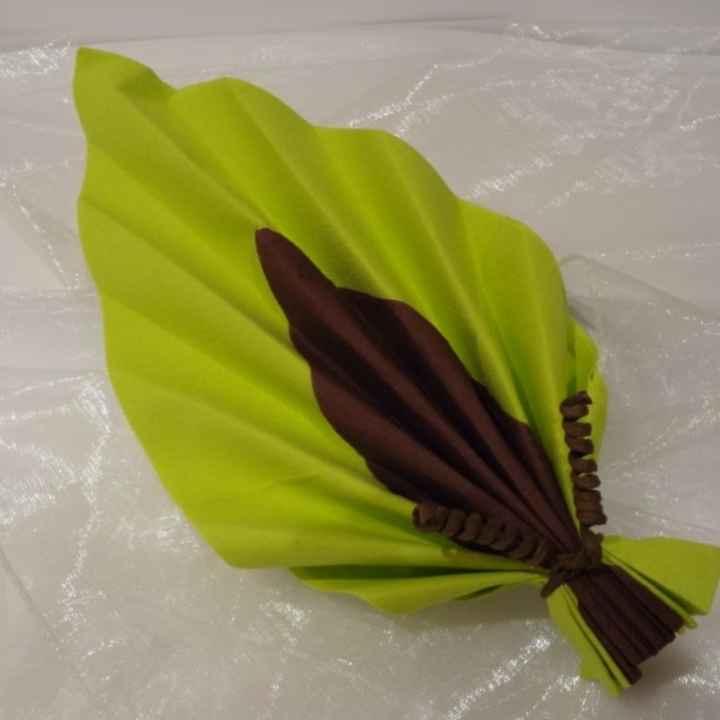 Pliage serviette - 3