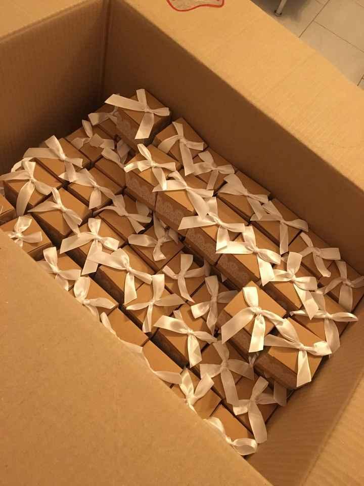 Mes boîtes à dragées :) - 1