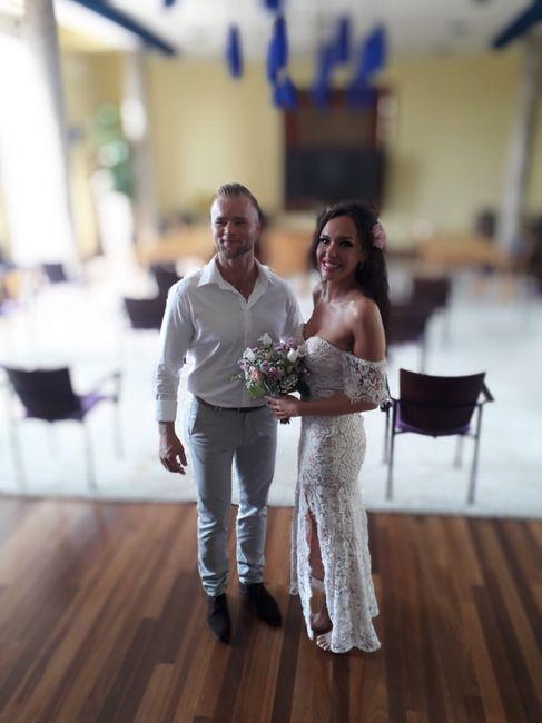 Enfin mariés civilement ! 1