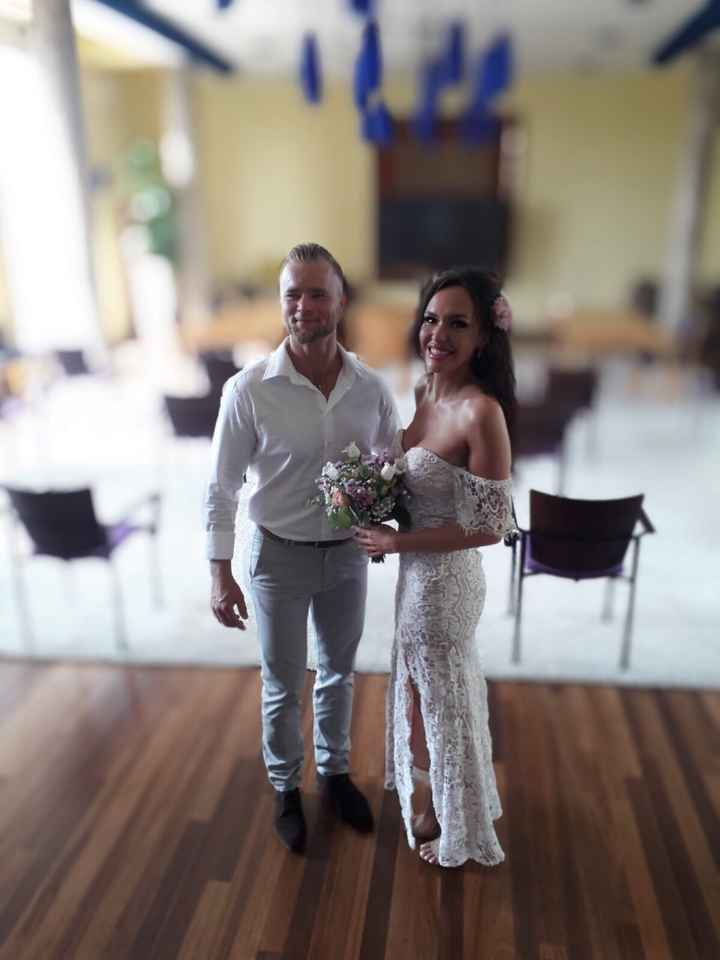 Enfin mariés civilement ! - 1