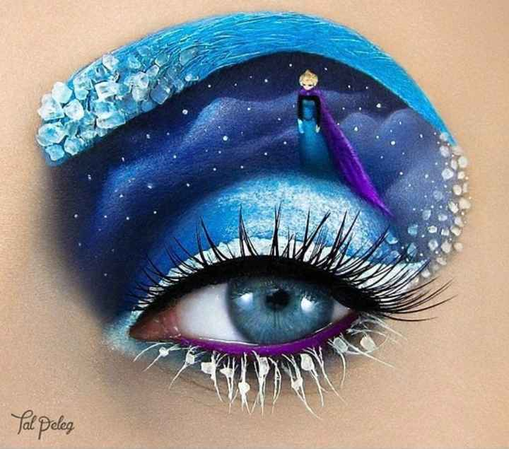 Inspiration make up Disney - 1
