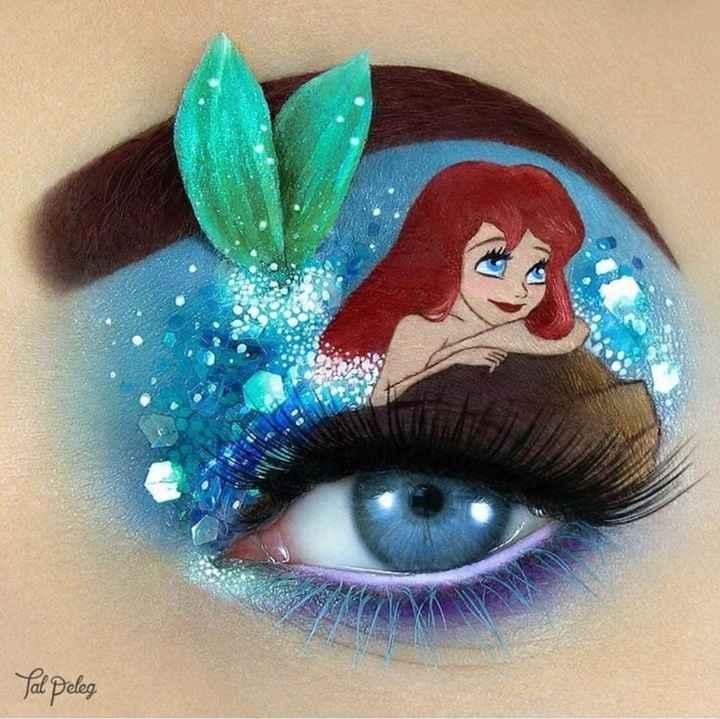 Inspiration make up Disney - 3
