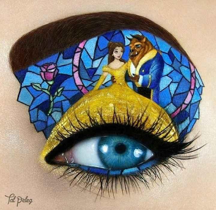 Inspiration make up Disney - 4