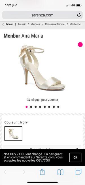 Les chaussures de la mariée - 1