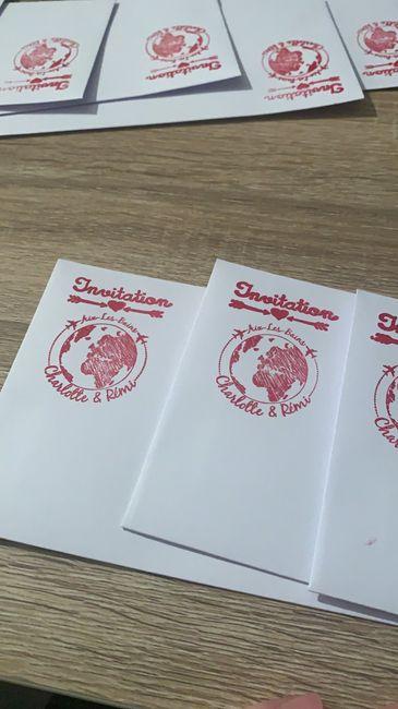 Enveloppes décorées - 2