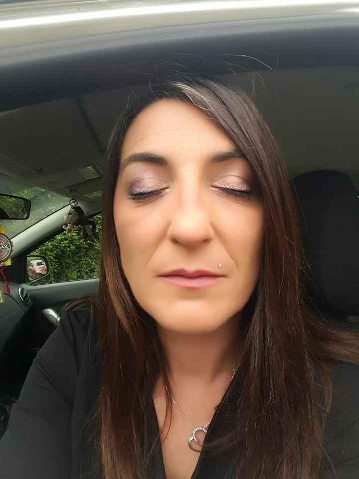 Essai maquillage a 15h a j-18 jours - 1