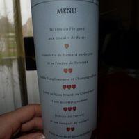 1 er essai menu