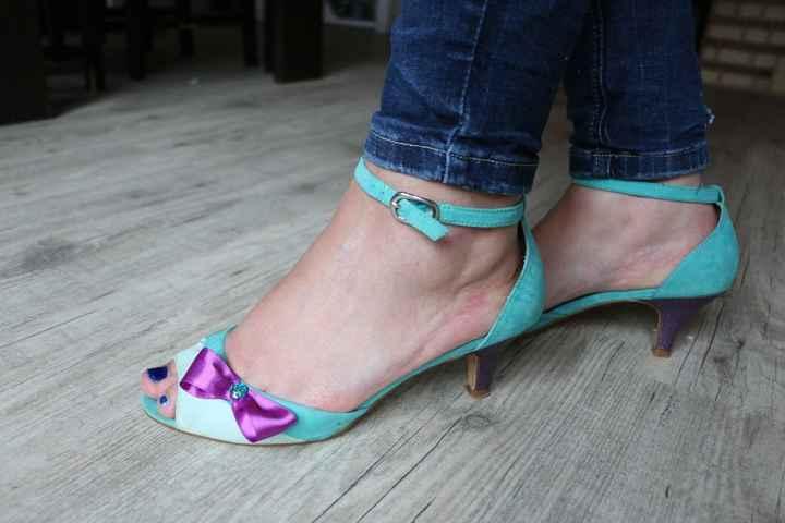 Chaussure customisé