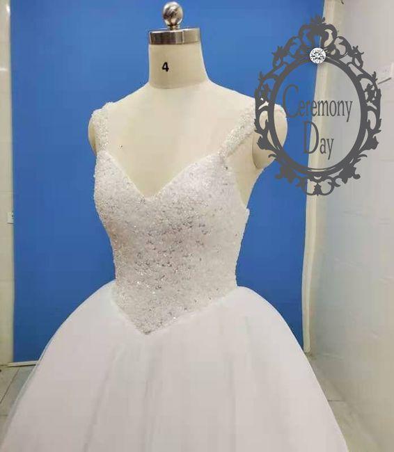 Ma robe de mariée 1