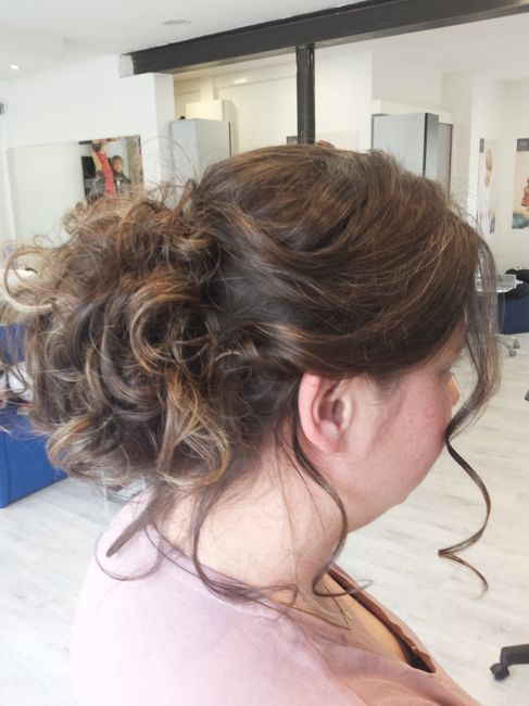 Premier essai coiffure et maquillage - 1