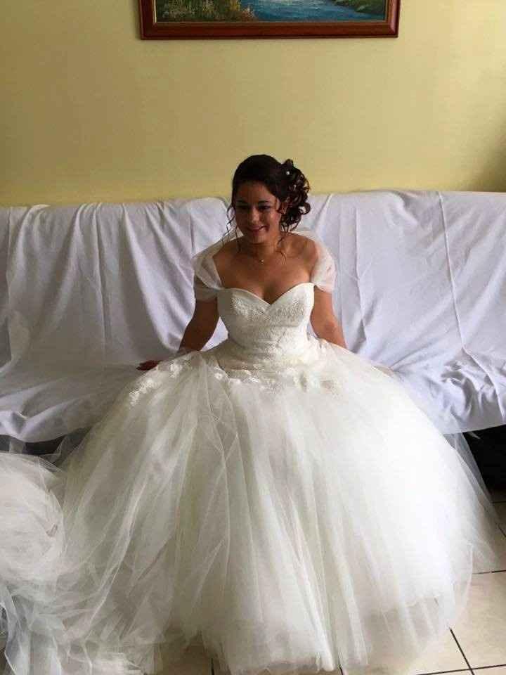 Photo avant l'arrivée du marié