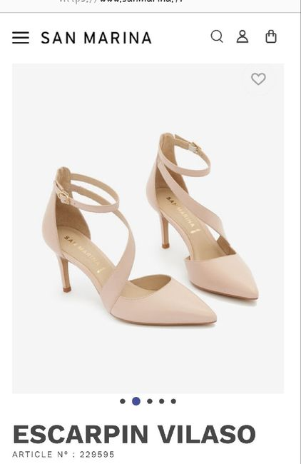 Quelles chaussures choisir avec une robe ivoire ? - 1