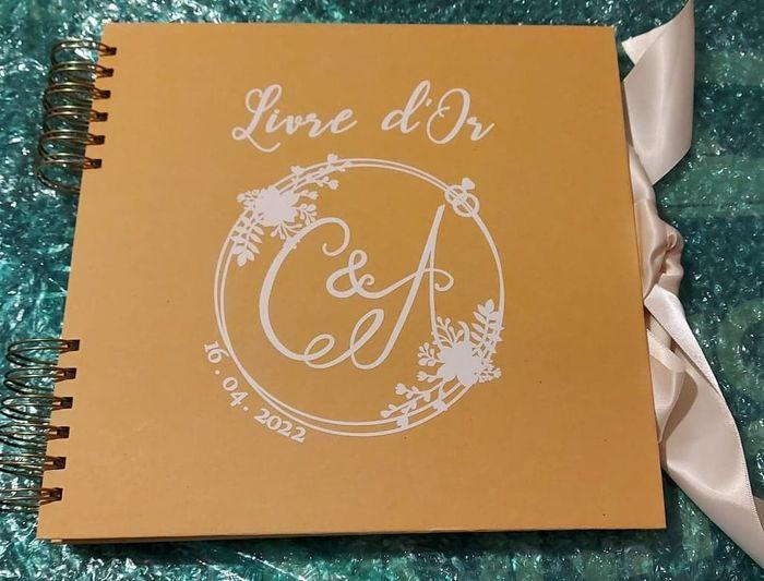 Plan de table & Livre D'or ... 1