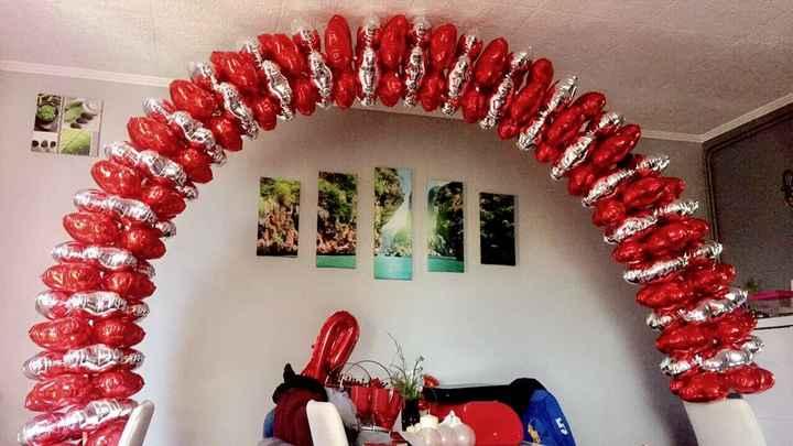 Test arche ballons 👰🏽❤️ - 1