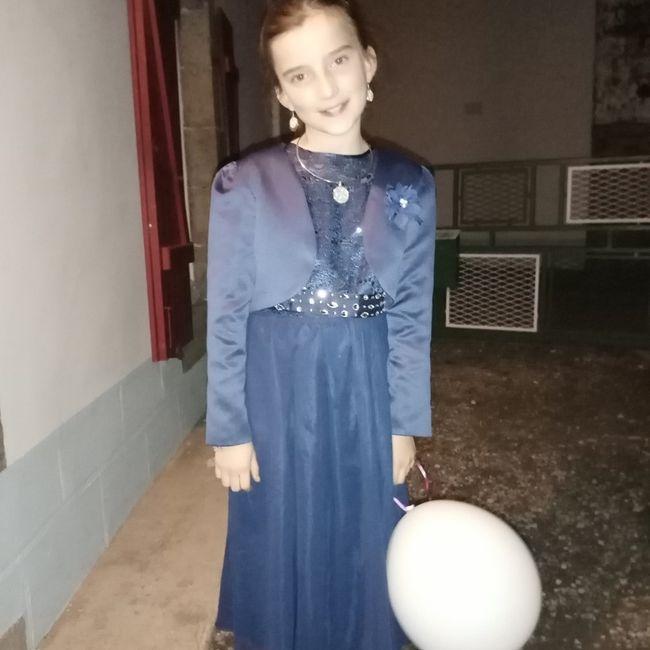 Robes petites fille d'honneur 3
