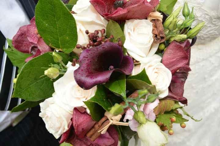 bouquet de mariée sous la pluie = même pas peur