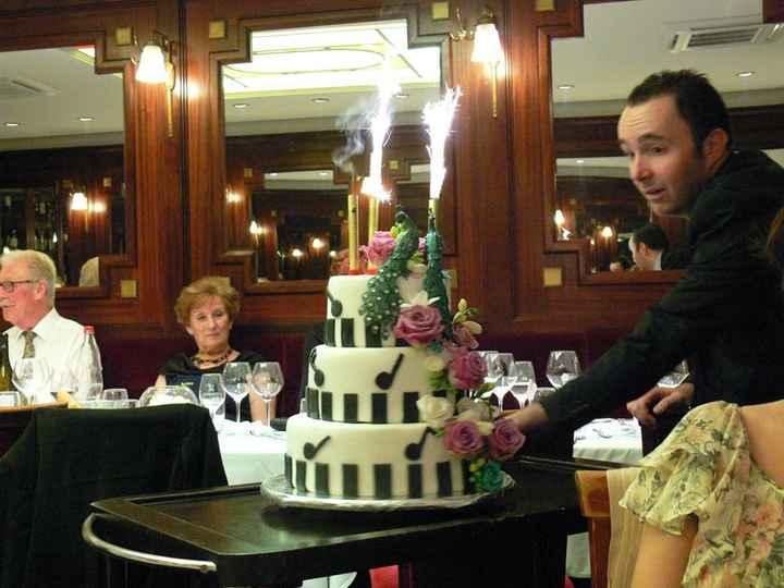 le weeding cake