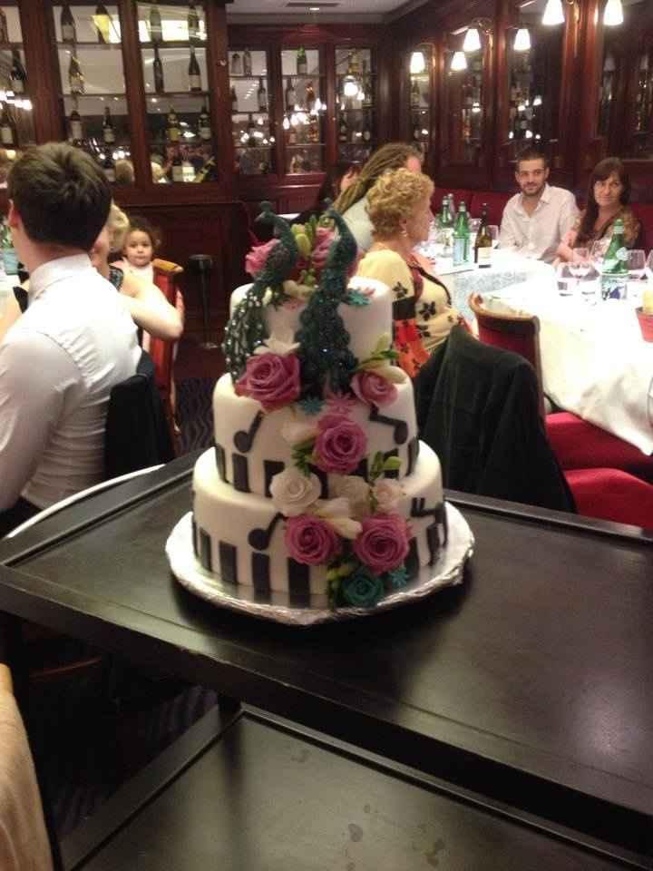 le weeding cake une autre star de notre mariage